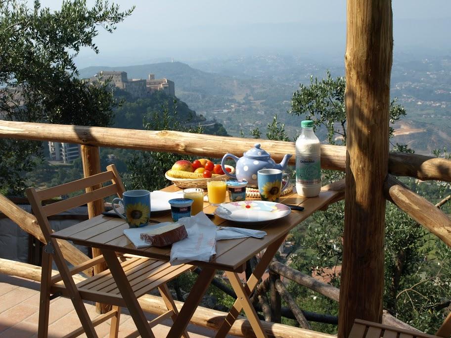 Vakre Veroli - utsikt fra Casa de Veroli